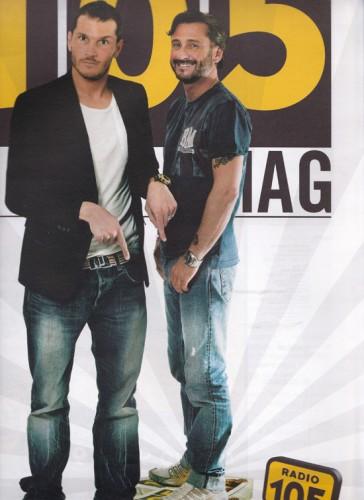 105 Mag - n. 2 - copertina - Alvin e Dj Giuseppe
