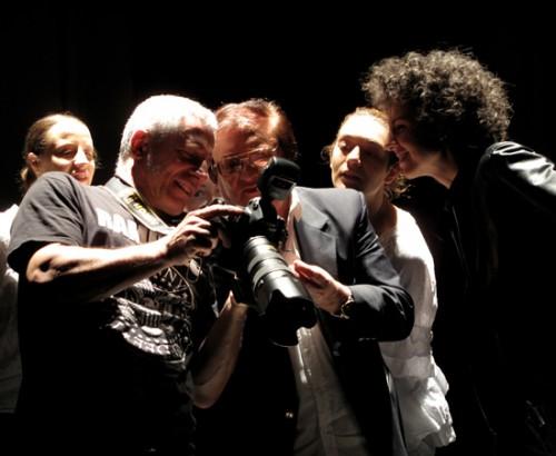 Backstage - Teatro Arsenale - Milano 17.04.09 - Leone Di Lernia