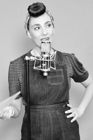 Paola Maugeri negli studi - 29.10.10