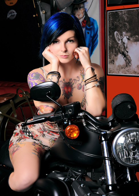 Harley and Tattoo