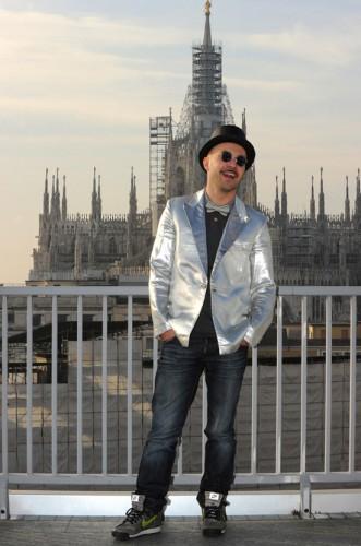 Maccio Capatonda - Zoo di 105 - Finale Tutto Factor - Studi di Mtv - Milano 21.01.12