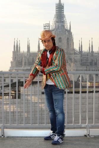 Marco Mazzoli - Lo Zoo di 105 - Studi di Mtv - Finale di Tutto Factor - Milano 21.01.12