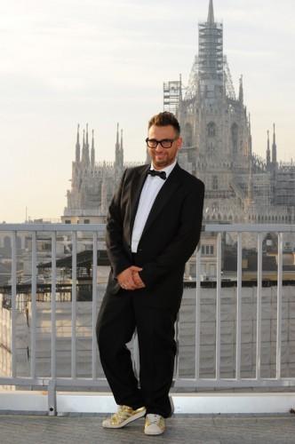 Alan Caligiuri - Lo Zoo di 105 - Studi di Mtv - Finale di Tutto Factor - Milano 21.01.12