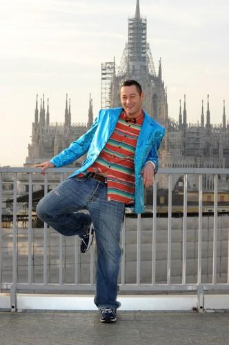 DJ Spyne - Lo Zoo di 105 - Studi di Mtv - Finale di Tutto Factor - Milano 21.01.12
