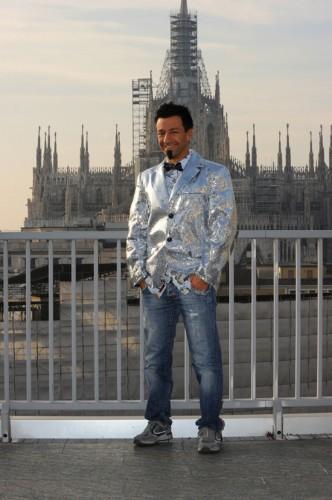 Pippo Palmieri - Lo Zoo di 105 - Studi di Mtv - Finale di Tutto Factor - Milano 21.01.12